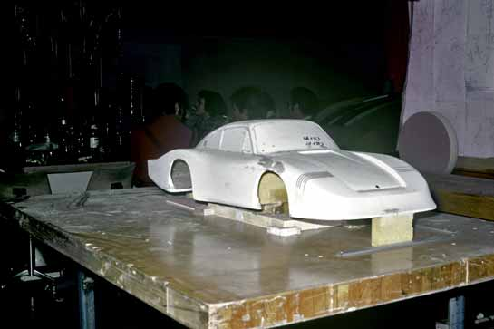 Fifth-scale model of the Porsche 935