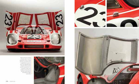 Studio images of a Porsche 917