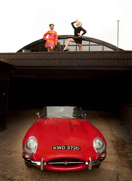 Red E-type Roadster