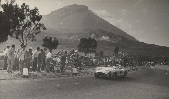 Racing at Targa