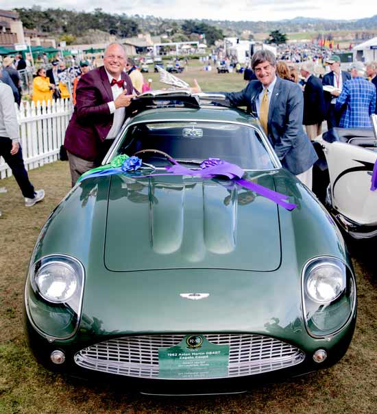 Zagato Pebble Beach winning car 2019