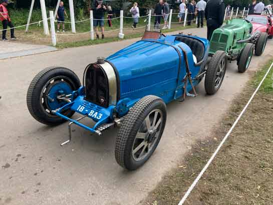 Exciting classic cars at Goodwood