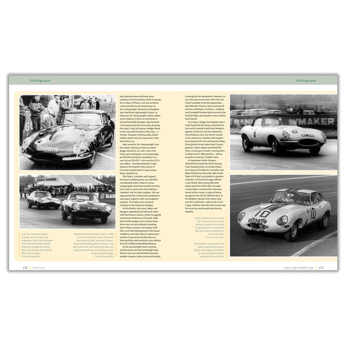 Jaguar Lightweight E-type - The autobiography of 4 WPD (Limited Edition)