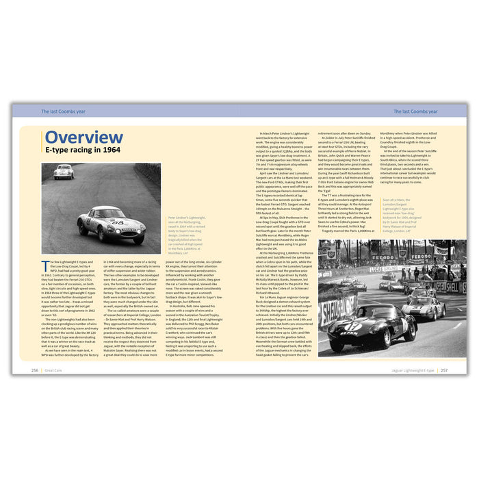 Jaguar Lightweight E-type - The Autobiography of 4 WPD