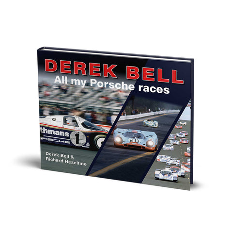 Book on Derek Bell and Porsche
