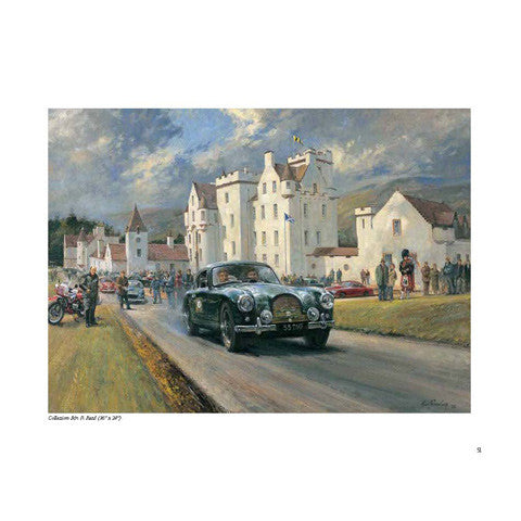 Alan Fearnley motoring art