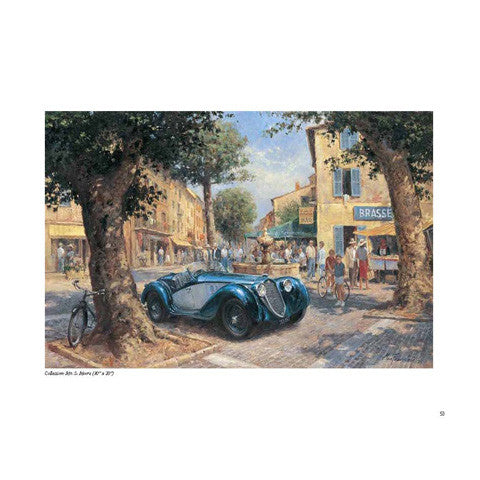 Automotive Artist Alan Fearnley book deluxe edition