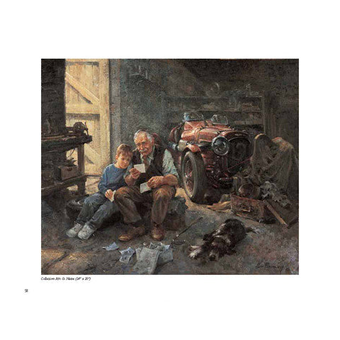 Alan Fearnley automotive paintings book