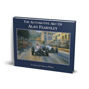 Automotive Artist book of paintings