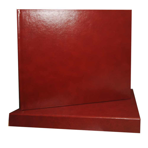 Leather book and slipcase