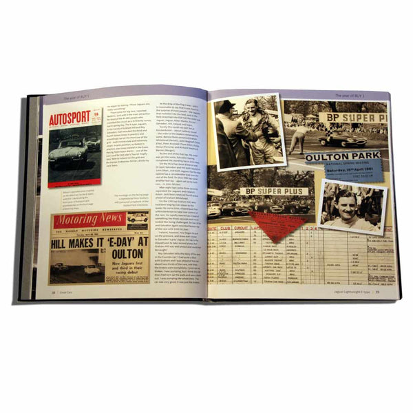 Jaguar history - collector's book