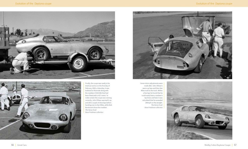 Evolution of the Daytona Coupe