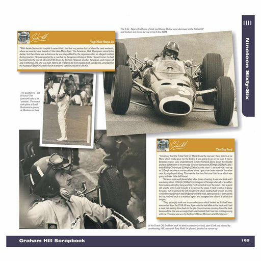 Graham Hill in motorsport history
