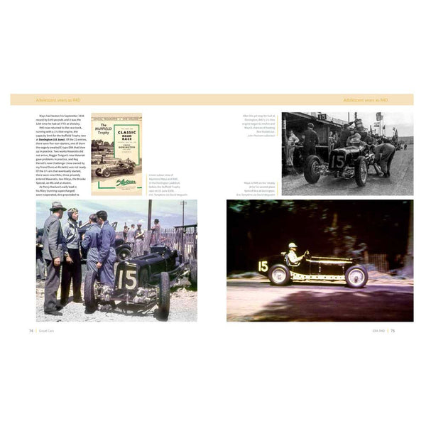 Great Cars Books - ERA classic automobile history chapters