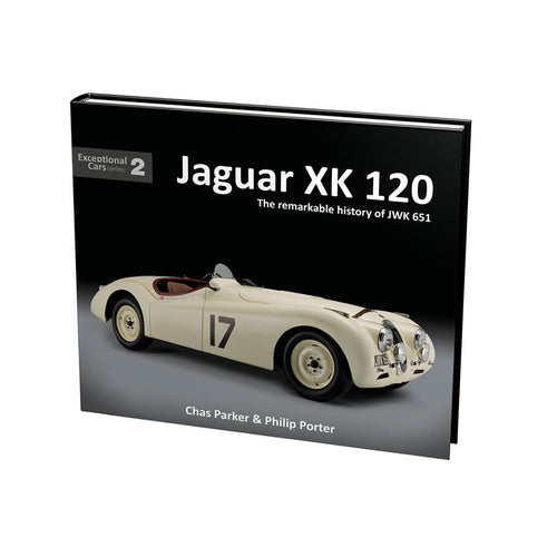 Exceptional Cars Books - Jaguar XK 120