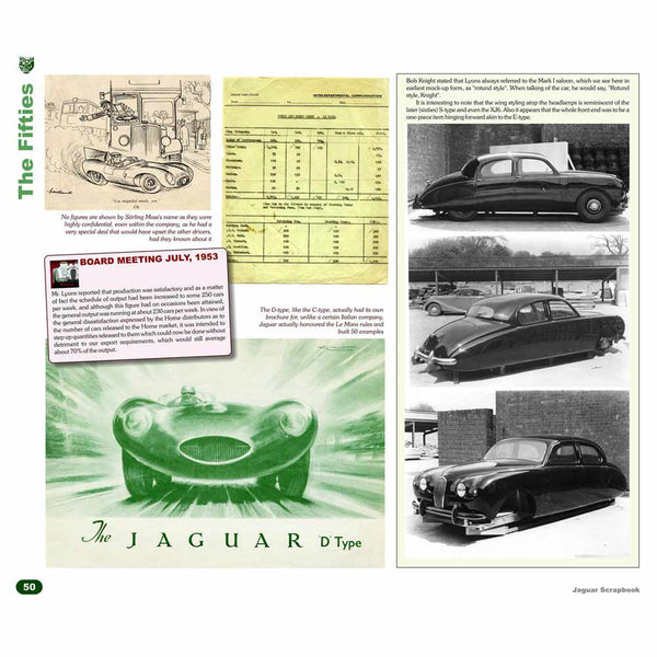 Classic Jaguar history book  - deluxe edition