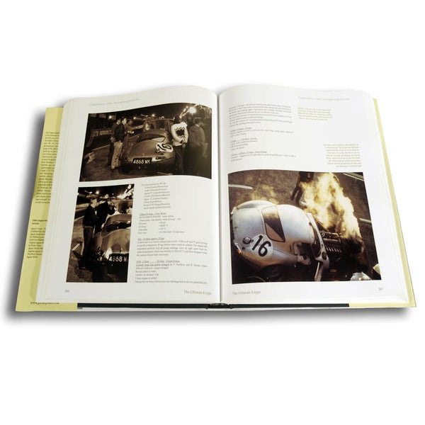 Jaguar E-type history book
