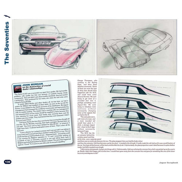 Classic Jaguar motorsport book with archive images