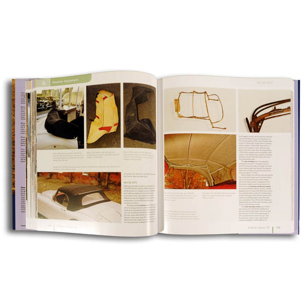 Jaguar XK Restoration book leatherbound edition