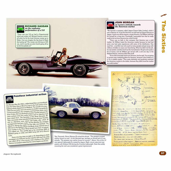 Deluxe Jaguar history book with archive images