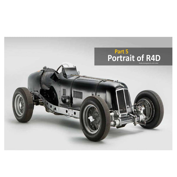 Great Cars Books - ERA classic automobile history portrait image