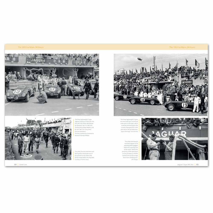 1952 Monaco GP Stirling Moss crash, c-type race history