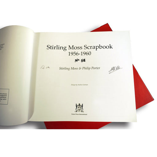 Stirling Moss Scrapbook 1956-1960 limited edition