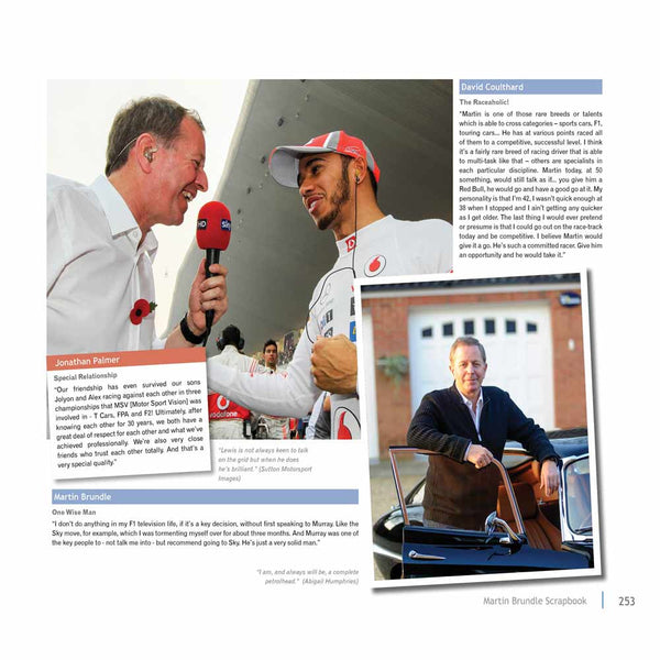 Martin Brundle interviews Lewis Hamilton