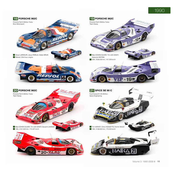 Le Mans 1949 - Le Mans 2009 Model Books leatherbound edition
