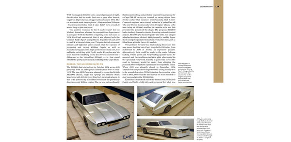 Ford Capri Book