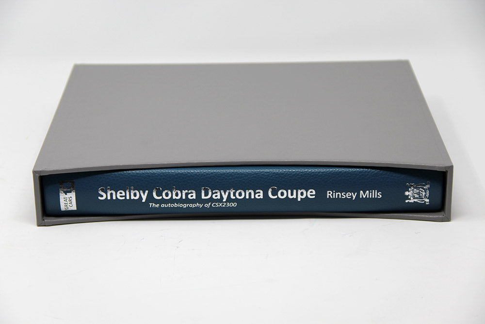 Special edition Shelby Cobra book by Rinsey Mills