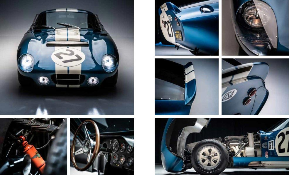 Shelby Cobra Daytona Coupe book