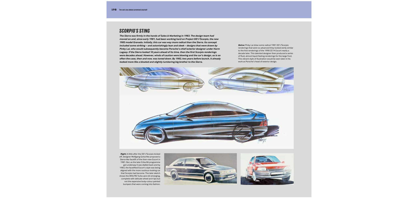 new Ford Capri book
