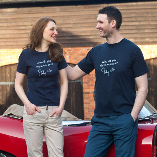 Stirling Moss T-shirt - Adult sizes in Navy