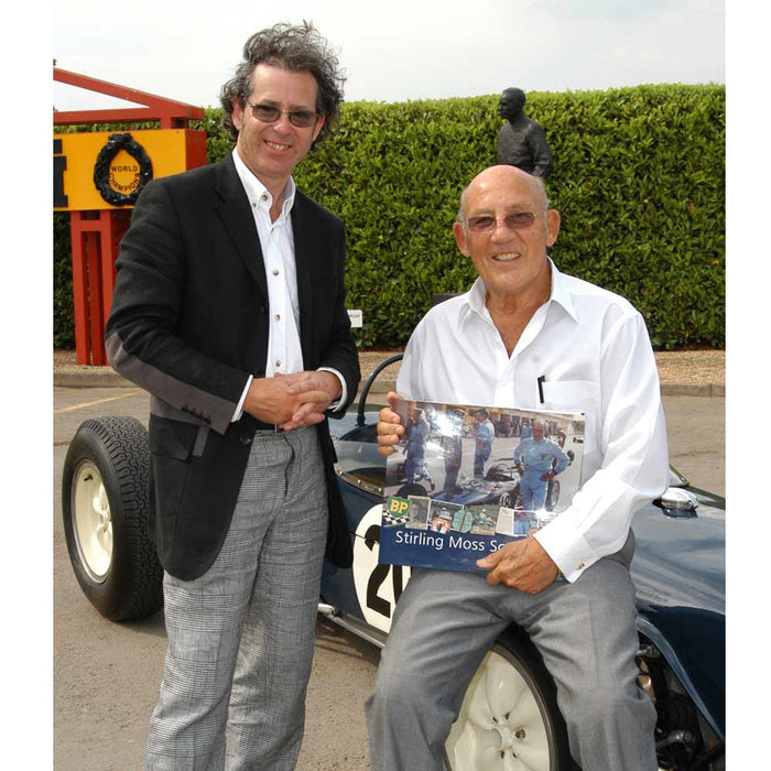 Stirling Moss and author Philip Porter
