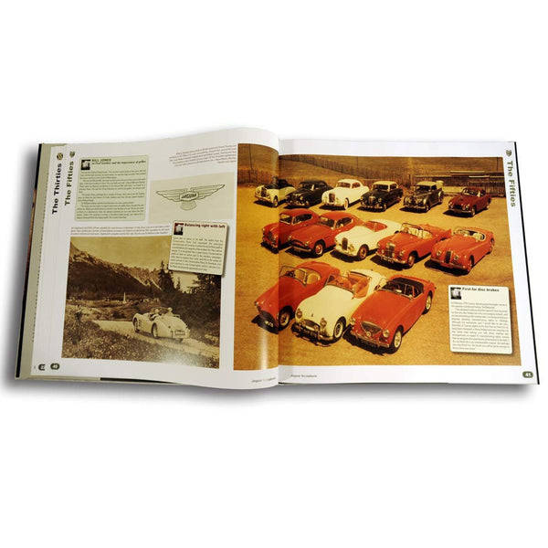 Classic Jaguar book with archive images