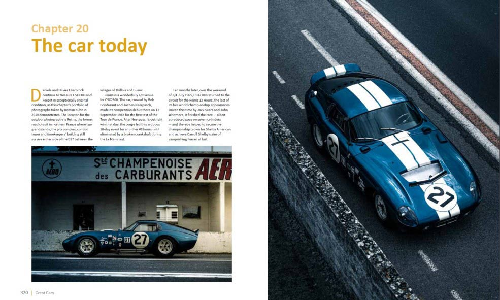 Shelby Cobra Daytona Coupe history
