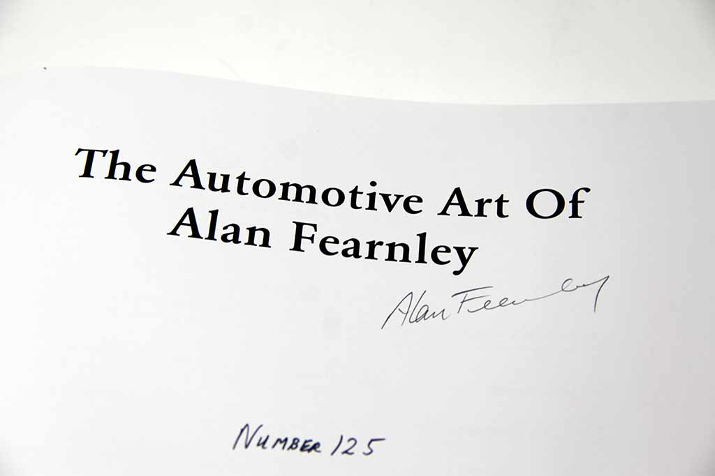 Alan Fearnley signature