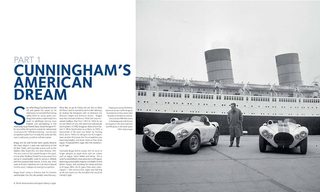 Briggs Cunningham and motorsport