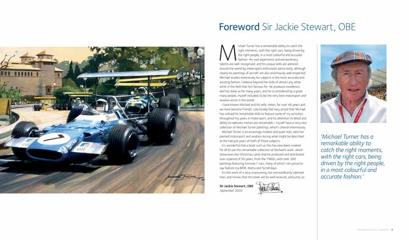 Foreword by Sir Jackie Stewart