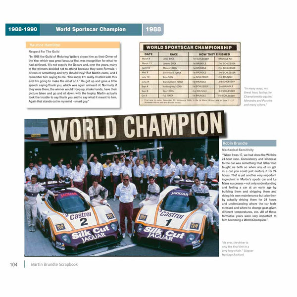Guild of Motoring Writers - World Sportscar Championship