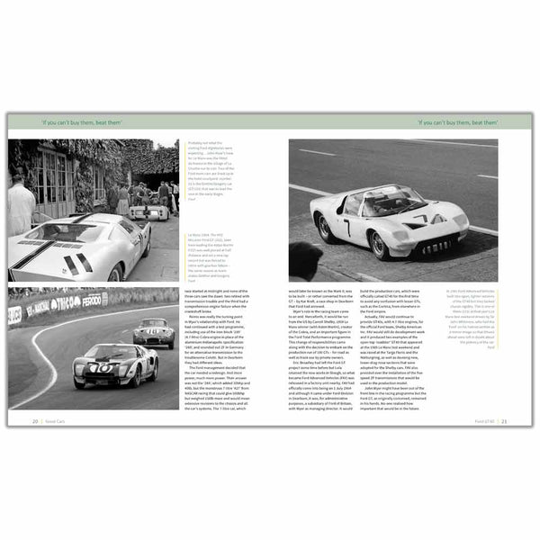 Ford GT40 book by Ray Hutton