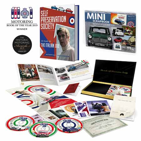 Italian Job books and DVD