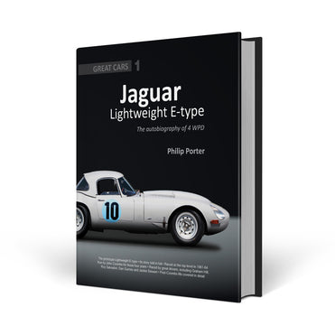 Classic car books - Etype history - signed by Brian Redman