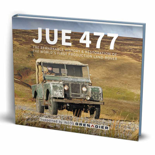 NEW Land-Rover book
