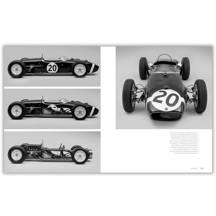 Lotus 18's glass-fibre body panels