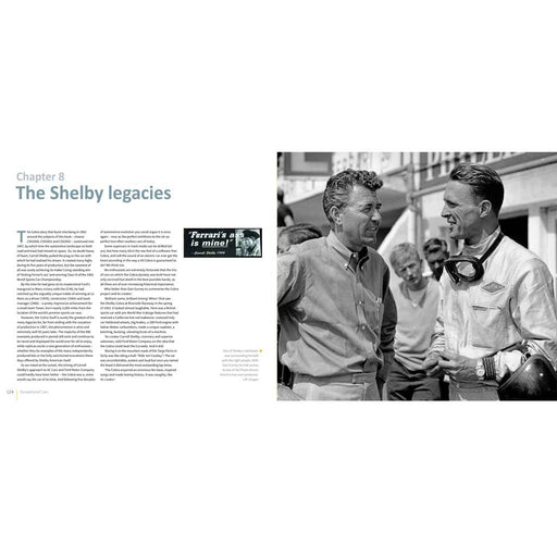 Carrol Shelby and Dan Gurney