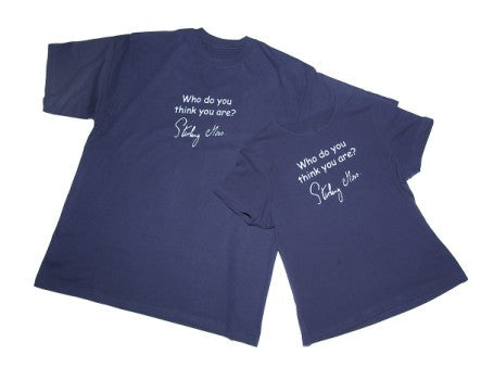 Stirling Moss T-shirt - Child sizes in Navy