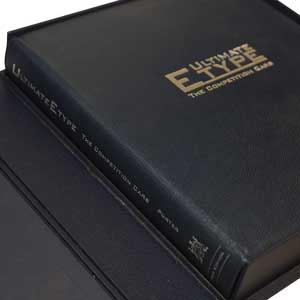 Lightweight E-type - collectors' leather-bound limited edition