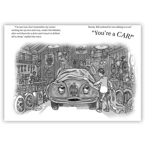 Children's classic car book